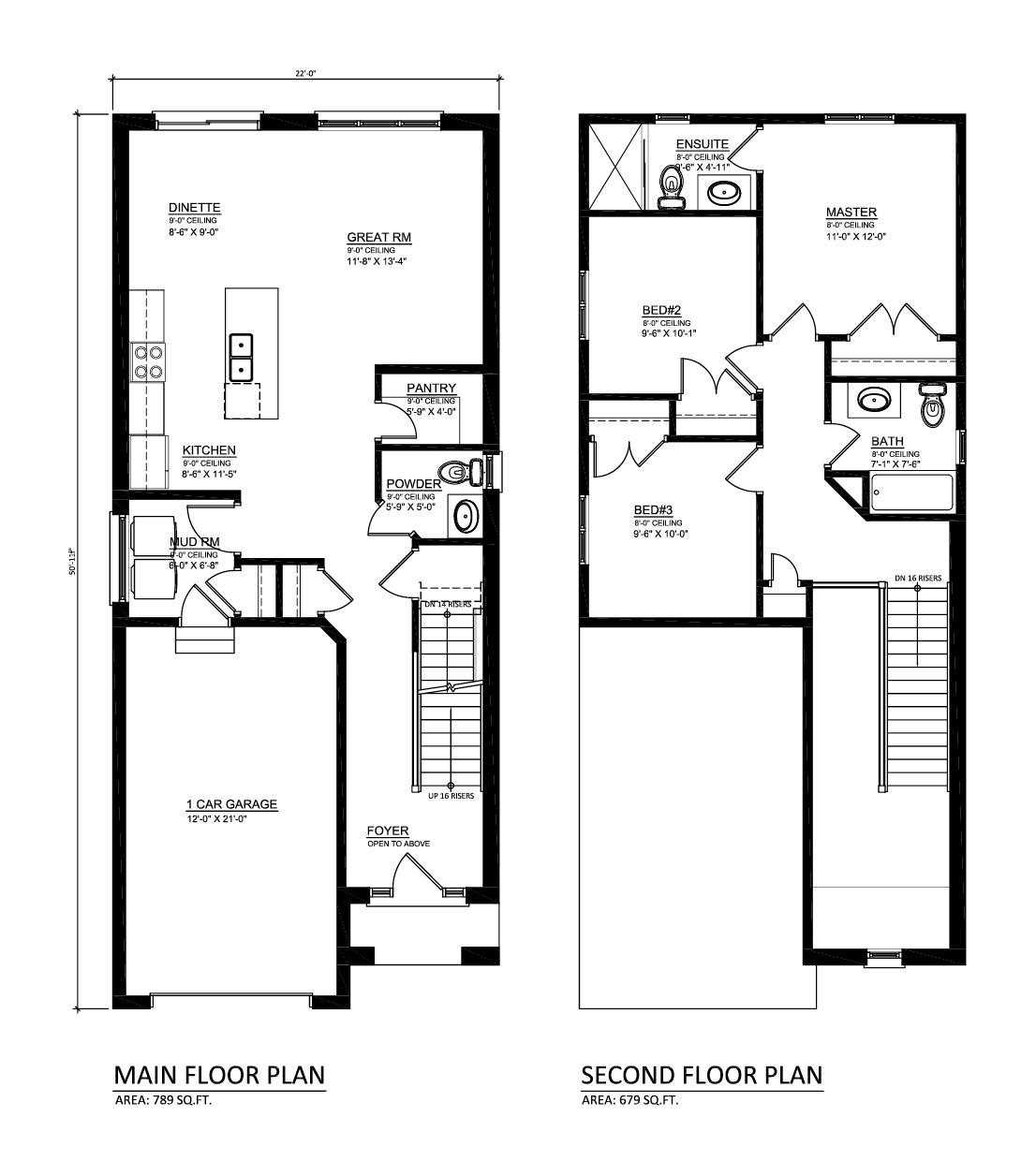 Magnolia House Plan 1